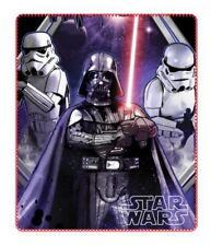 STAR WARS plaid polaire couverture DISNEY Dark Vador 120 x 140 cm NEUF
