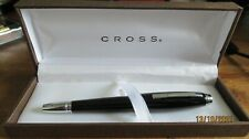More details for cross fountain pen black and chrome in presentation box