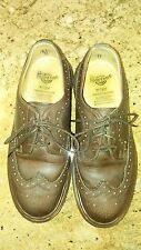 Dr. Martens Doc 3989 Brown Leather Wingtip Oxfords Womens Size UK 5 US 7 England