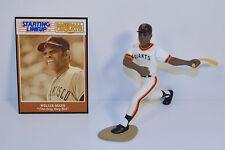 1989 Willie Mays #24 White Jersey San Francisco Giants Starting Lineup Baseball