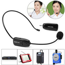 2.4G Wireless Microphone Headset Megaphone Radio Mic For Speech Loudspeaker New