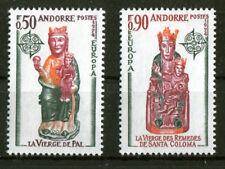 Andorra 258 - 259 ** postfrisch Cept 1974 Michel 25,00 € MNH