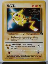 Pikachu # 4 - 1999 Black Star Promo Pokemon Card - $1 Flat Shipping