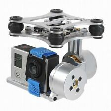 Metal Brushless Camera Gimbal Mount+2208 KV90 Motor For DJI Phantom Gopro 3 2 s