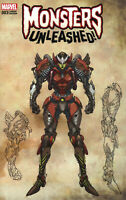 Monsters Unleashed #3 New Monster Wraparound Variant Marvel