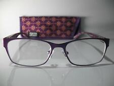 New! Foster Grant Blaire Purple 1.25 Reading Glasses W/Soft Case. FREE Ship!