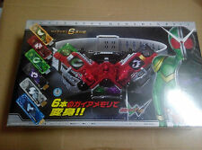 Kamen Rider W DX superbest super best Henshin Belt with 6 USB gaia memories
