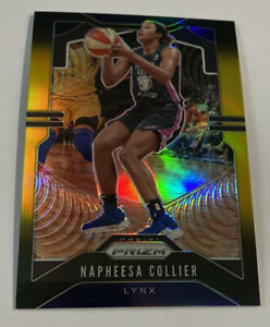 2020 Panini WNBA PRIZM NAPHEESA COLLIER Black Gold Prizm SSP 3/5 Lynx