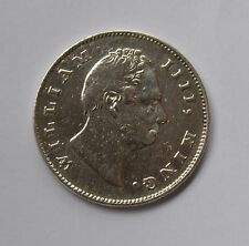 1835 East India Company British Silver 1 Rupee Coin - WILLIAM IIII - Look !