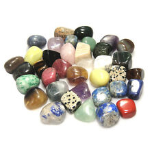 5pcs Colorful Tumbled Stones Inspiration Reiki Crystals Healing Fish Tank