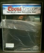"Vintage Coors Light Lighted Dry Erase Specials Board 23.75"" x 19"" x 1.5"" Very Gd"