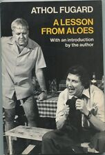 Athol Fugard A Lesson From Aloes Signed Autograph Book