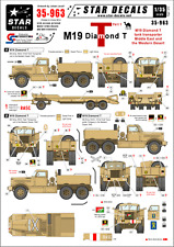 Star Decals, 35-963, Decal for M19 Diamond Tank transporter#1, 1:35