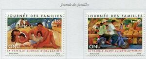 19733) United Nations (Geneve) 2006 MNH New Family