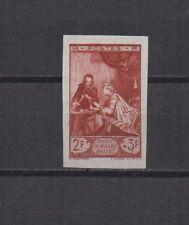 France : N° 753 b (Pour le Musée postal). Non dentelé. **. Cote 175 €.