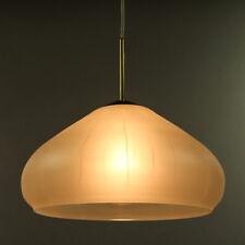 Doria Pendel Leuchte Glas Schirm Hänge Lampe OVP neuwertig 60er 70er Jahre