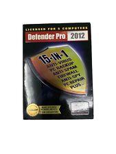 Defender Pro 2012  15 In 1 Antivirus Software