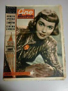 Giornale Cine Illustrato 14 Agosto 1949 n°33 Jane Wyman Kirk Douglas