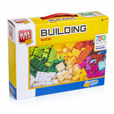Block Tech Assorted Building Blocks Bricks 750 Pieces
