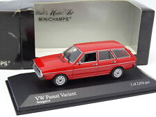 Minichamps 1/43 - VW Passat Variant Break Red