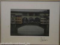 """Klaus Schreiber:""""Große Ansicht von Ponte Vecchio"""" Fotografie"""