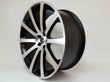 "22"" BLACK polished ALLOY WHEELS CHRYSLER 300C, DODGE CHARGER,CRD,SRT, with tyres"