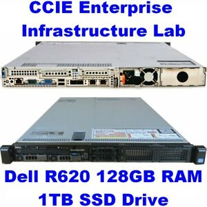 Cisco CCIE Lab Enterprise Infrastructure (EI) INE Dell R620 128GB EVE-NG SD WAN
