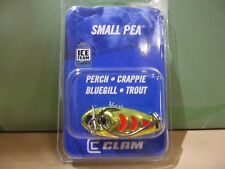 Clam Small Pea Slab Spoon 3/16 ounce #4 hook metal chart NIP
