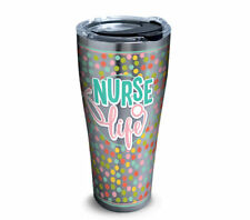 NEW Stainless Steel Tervis Nurse Life, 30oz with lid