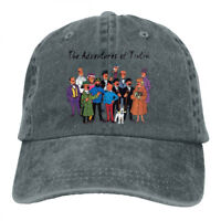 Tintin Characters cowboys Snapback Baseball Hat Adjustable Cap
