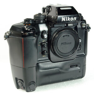 Nikon F4E Film Camera (F4 w/ MB-23 and MS-23) 35mm SLR Film Camera