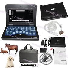 Portable Laptop Machine Veterinary Ultrasound Scanner Animal Rectal+Micro convex