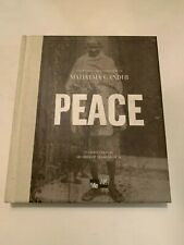 2007 Peace The Words And Inspiration Of Mahatma Gandhi Hardcover