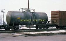 Feb 1984 UTLX #84814 Tank Car Salt Lake City Utah ORIGINAL PHOTO NEGATIVE