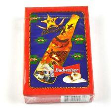 Budweiser Bier Spielkarten Karten USA Kartenspiel - Motiv Flasche roter Rand