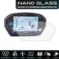Triumph Speed Triple (2018+) NANO GLASS Tableau de Bord Protecteur D' Écran