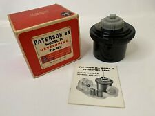 Vintage Paterson 35 Model Ii Developing Tank for Dark Room Photography Accessory