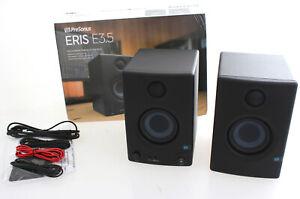 Presonus Eris E3.5 Studio Monitor Paar Lautsprecher Ausstellungsstücke PR172