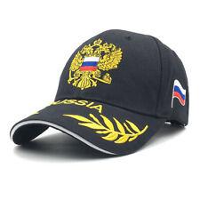 Russian Flag Baseball Cap Men's Snapback Hats Adjustable Flat Hat Outdoor Sports