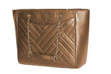 Tory Burch Womens Vachetta Beige Leather Alexa Large Tote Bag Purse 18774-1M