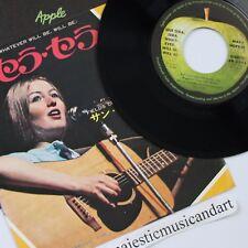 "MARY HOPKIN QUE SERA SERA 7"" VINYL 1969 APLLE ORIGINAL"