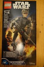 Nib New Factory Sealed Lego Star Wars Sergeant Jyn Erso 75119 Buildable Figure