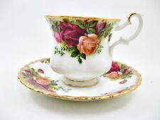 Royal Albert old country roses-Tasse M inférieure-Hauteur environ 7 cm-Ø Env. 7,5 cm (1)