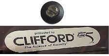 Alarma de automóvil ficticia 12v Led Con 2 Clifford ventana Stickers