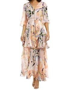 Ginger & Smart Delirium Wrap Dress Size 10