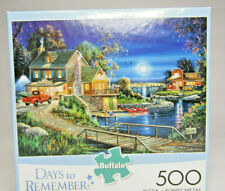 Buffalo Games And Puzzles Days To Remember AUTUMN MEMORIES Fishing 500pc Puzzle