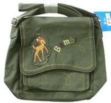 "Walt Disney Bambi Shoulder Bag Purse 11"" L x 8"" H x 2"" W Multi Compartment Bag"