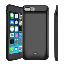 For iPhone 6 6s 7 8 Plus Power Bank Charging Cover External Battery Charger Case