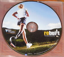 REBUILT THE HUMAN BODY SHOP DVD, Prosthetics, Orthodics - Discovery Channel