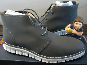 Cole Haan Zerogrand Stitch Out Chukka Boot Magnet Vapor Grey Size 10 M C24562